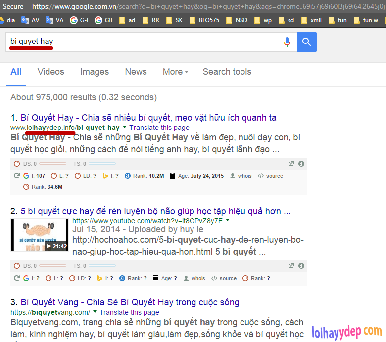backlink tốt và top google