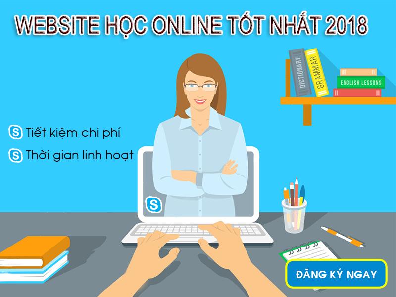 Web học online tốt nhất 2018
