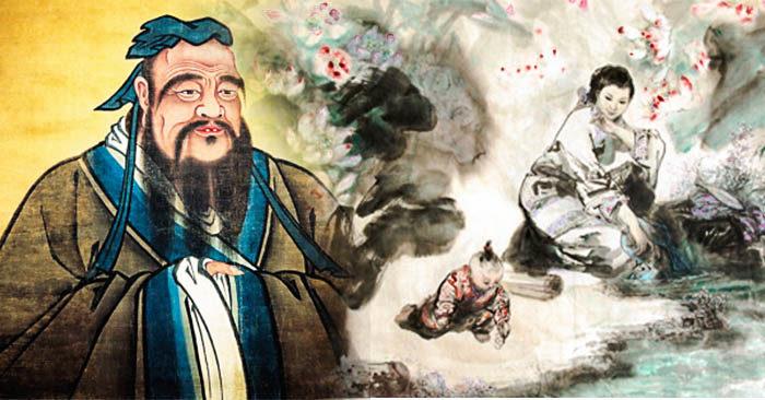Khổng Tử ở đâu, có vợ không và Khổng Tử nói về phụ nữ thế nào ?