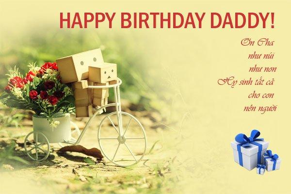 60+ lời chúc mừng sinh nhật bố/mẹ hay và ý nghĩa nhất